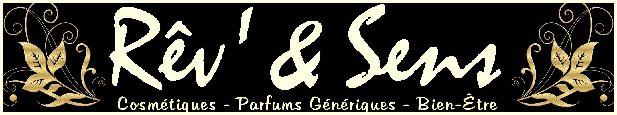 logo Rêv` & Sens avec cadre et slogan